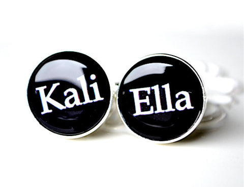 Personalized Name Cufflinks