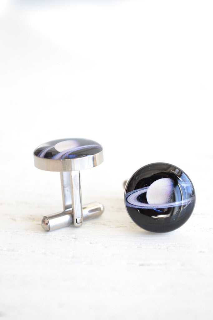 Planet solar system cufflinks - astronomy inspired (PC109)