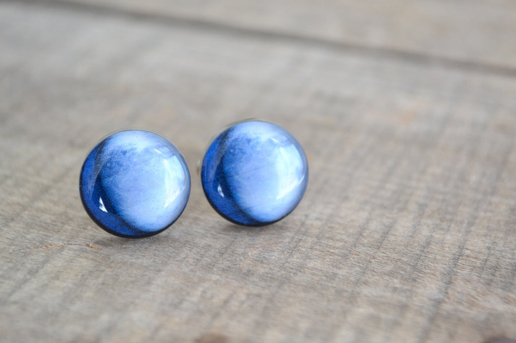 Planet solar system cufflinks - astronomy inspired (PC112)