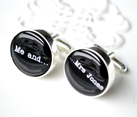 Me and Mrs Jones Cufflinks