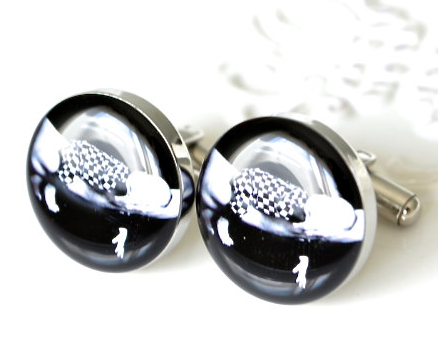 Personalized photo cufflinks / Style 20