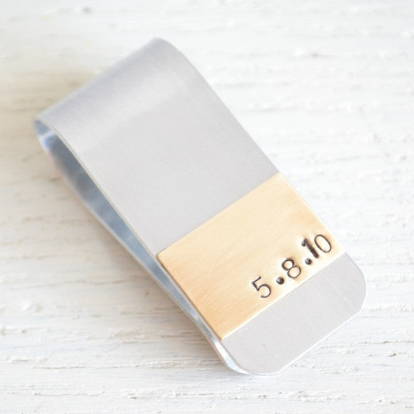 Date Money Clip