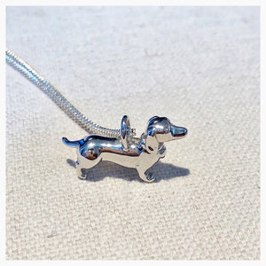 Sterling Silver Sausage Dog