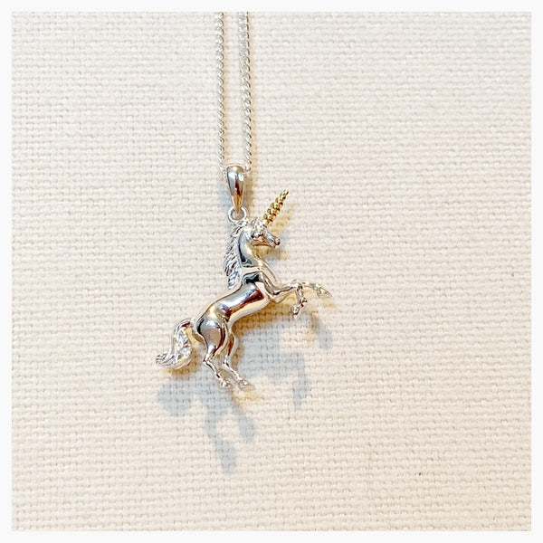 Sterling Silver Unicorn