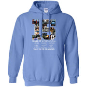 15 years of supernatural thank for the memories signature Hoodie