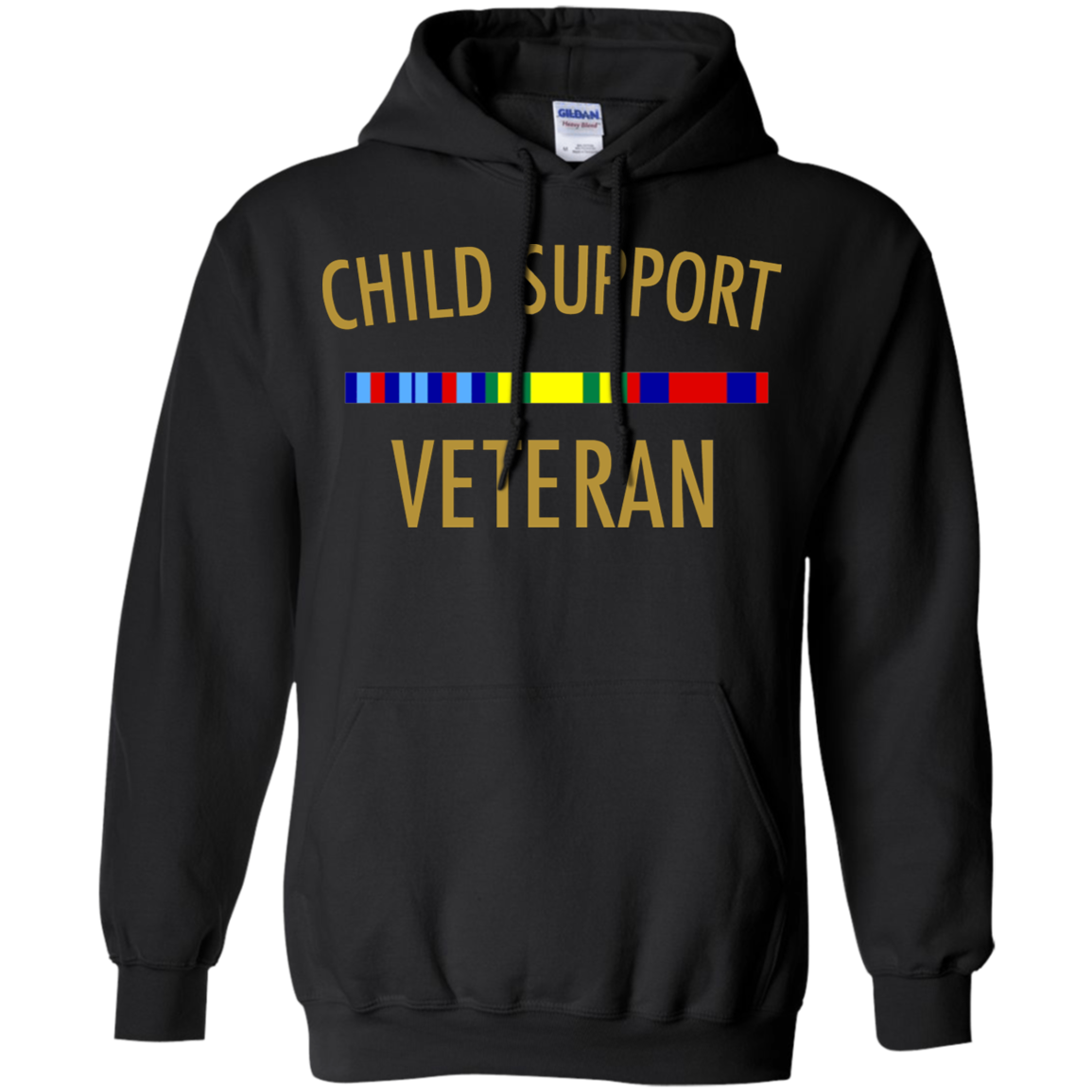 Child support veteran funny Hoodie