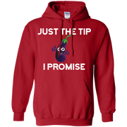 Eggplant Just the Tip I promise Hoodie