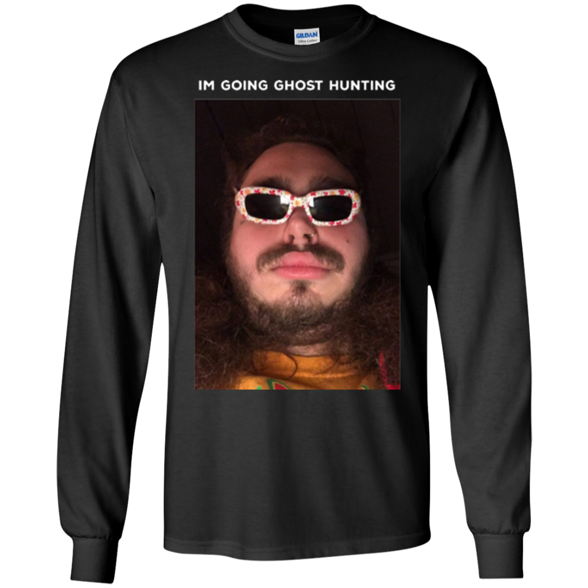 Post Malone Im Going Ghost Hunting Long T-Shirt