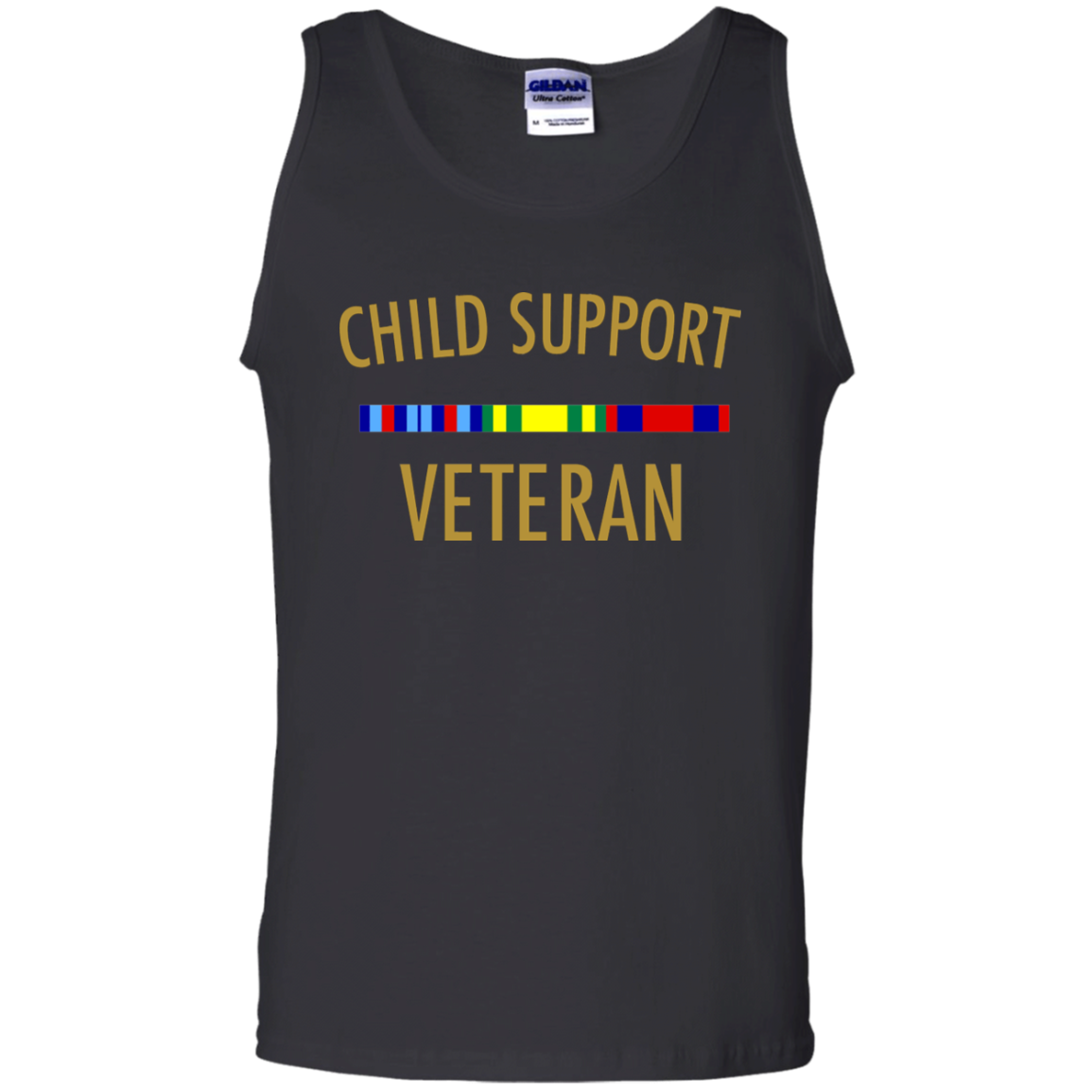 Child support veteran funny Tank Top