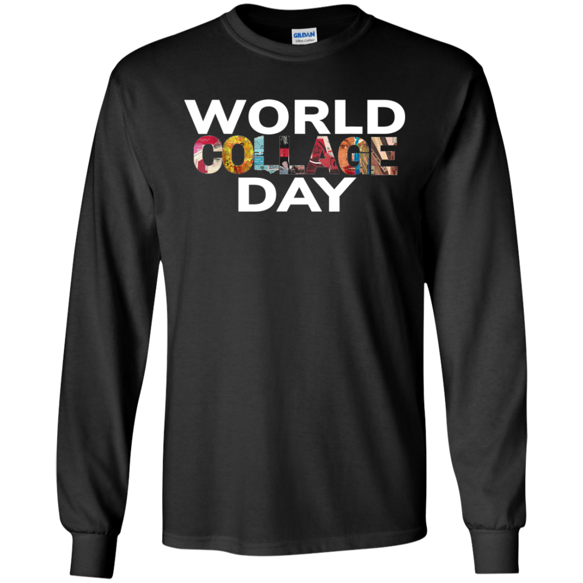 Celebrate World Collage Day 2019 Long T Shirt