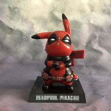 15cm PVC Cute Pikachu  X-men Deadpool Action Figure Model Birthday Collectible Gift Toys for Kids and Adults Children Lovers