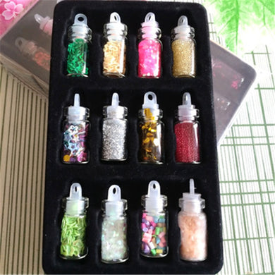 1Set Sequin Filler Clear/Fluffy Polymer Slime Toys For Children Charms Lizun Modeling Clay DIY Kit Accessories Kids Plasticin