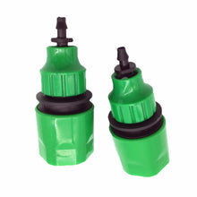"2 Pcs Fast Coupling Adapter Drip Tape For Irrigation Hose Connector With 1/4 ""barbed Connector Garden Irrigation Garden Tools"