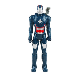 30cm Marvel Avengers Toys Thanos Hulk Buster Spiderman Iron Man Captain America Thor Wolverine Black Panther Action Figure Dolls
