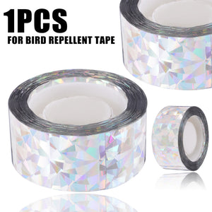 Anti Bird Tape Bird 90M/45M Scare Tape Audible Repellent Fox Pigeons Repeller Ribbon Tapes for  Pest Control