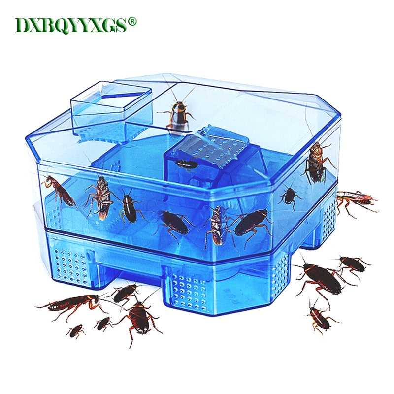 Cockroach Trap Fifth Upgrade Safe Efficient Anti Cockroaches Killer Plus Large Repeller No Pollute For Home Office Kitchen