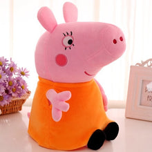 Peppa pig George Family Plush Toys 19cm Stuffed Doll Party decorations Schoolbag Ornament Keychain Toys For Children