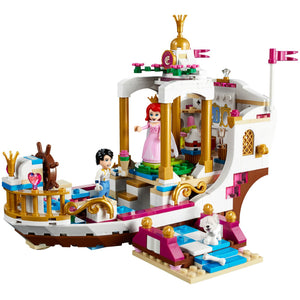 Princess Legoings Cinderella Elsa Anna Mermaid Ariel Castle Building Blocks Figure Girl Friends Bricks Toys