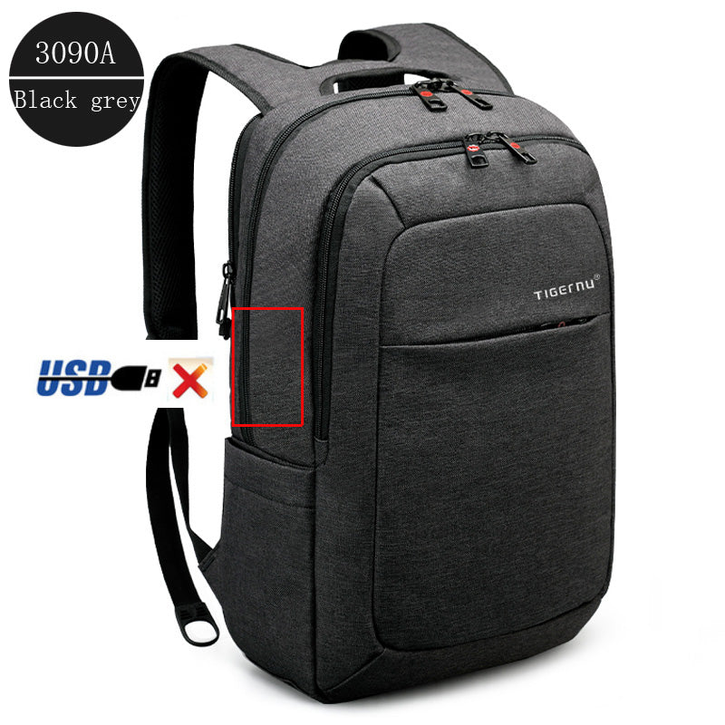 1075344dc1 ... Tigernu Male Backpack Bag Brand 15.6 Inch Laptop Notebook Mochila for  Men Waterproof Back Pack bag ...
