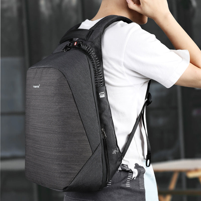 4b6e56059f ... Tigernu anti theft laptop backpack usb charging 15.6 backpacks men slim  waterproof school backpack bag women ...