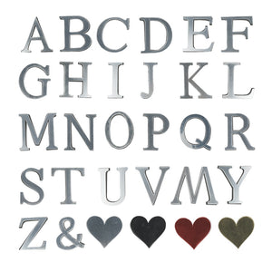 Wedding Love Letters English 3D Mirror Wall Stickers Alphabet Home Decor Logo Fr Wall Home Decoration Acrylic Letter A50