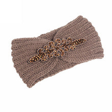 Women Knitting Headband 2017 Fashon New Arrival Handmade Keep Warm Hairband Turban For Lady Women Crochet Bow Stretch Hairband