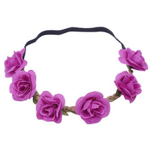 New Design Boho Headbands Hairband Women Ladies Floral Flower Festival Wedding Garland Head Band Beach Party Hair Accessories