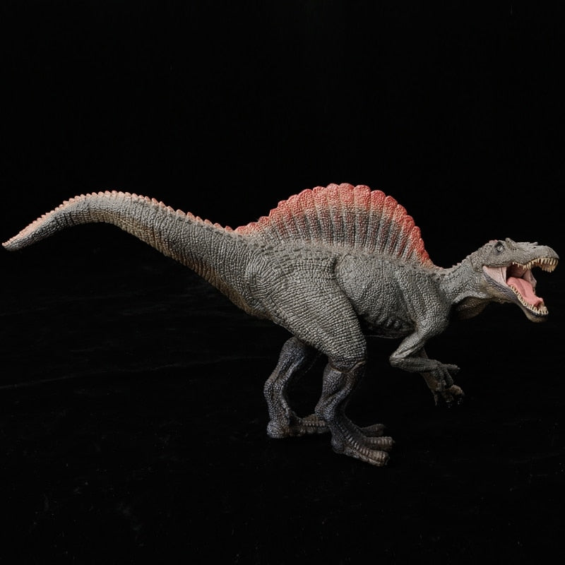 2018 New 1PC Spinosaurus Dinosaur Action Figure Toys Hand Puppet Kids Educational Model