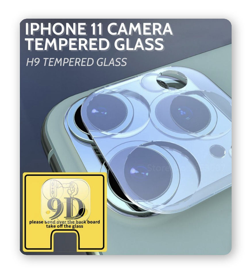 iPhone 11 Full Camera Tempered Glass