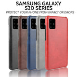 Samsung S20 / Plus / Ultra Leather Cover