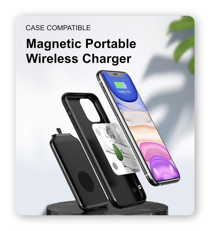 Magnetic Portable Wireless Charger