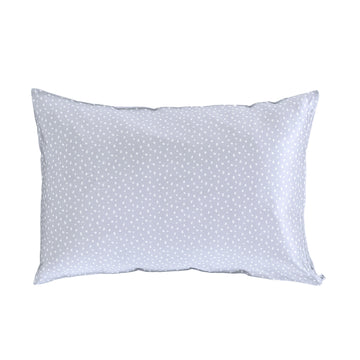 Silk Pillow Slip - Gray Sprinkles