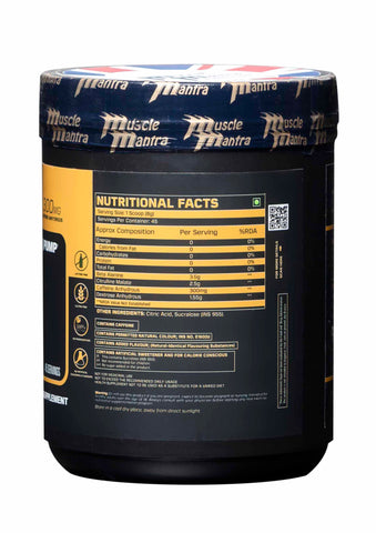Musclemantra Wikid Pre-Workout 360gm