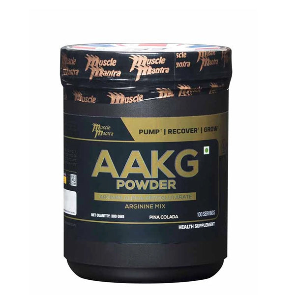 Musclemantra AAKG Powder Pina Colada 300g - Muscle Mantra