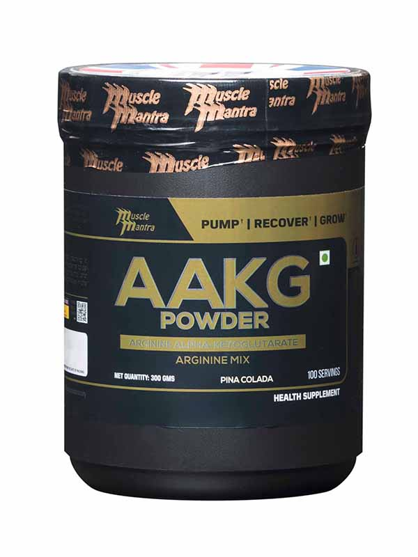Copy of Musclemantra AAKG Powder Pina Colada 300g (test)