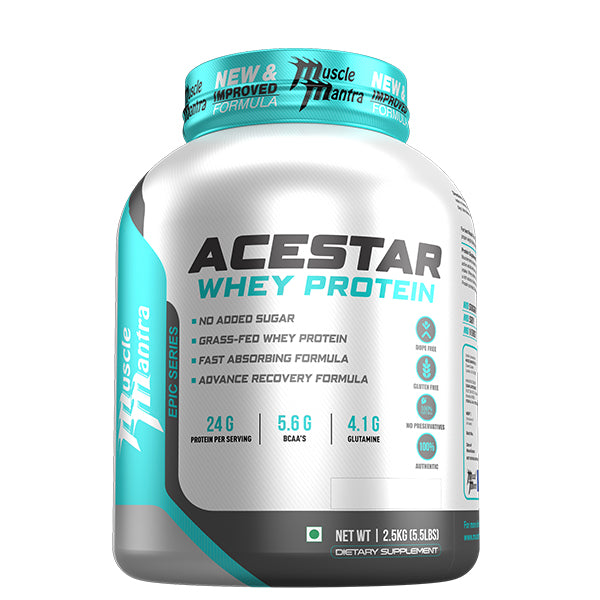 MuscleMantra Epic Series Acestar Whey Protein - Muscle Mantra
