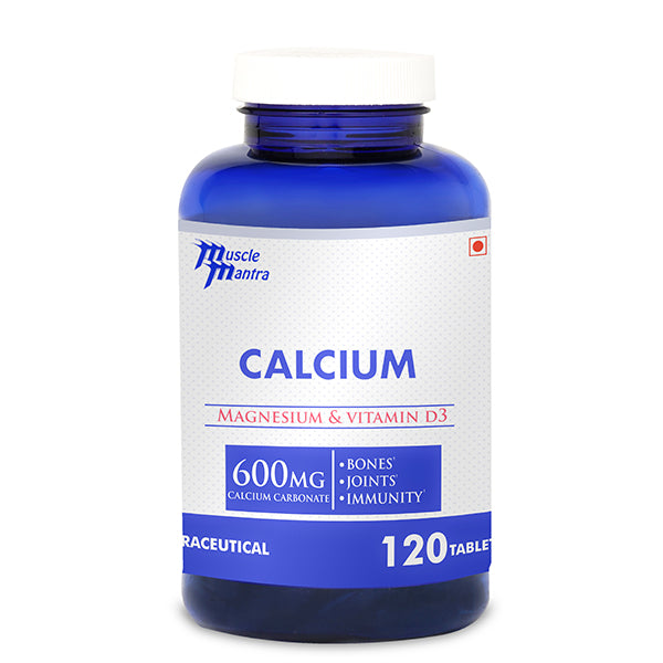 MUSCLEMANTRA CALCIUM 120TABLETS - Muscle Mantra