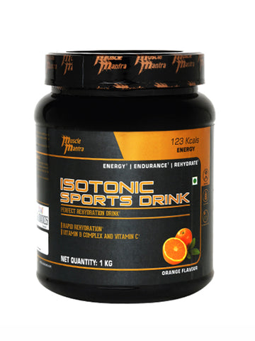 Musclemantra Isotonic Sports Drink - 1kg