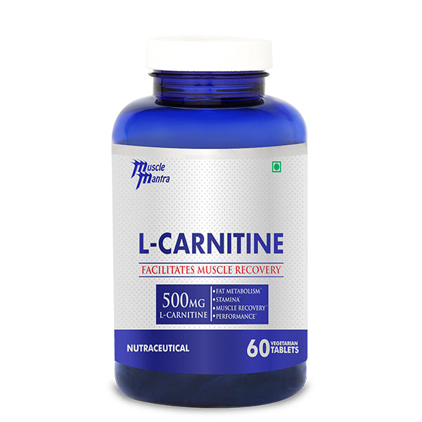 MUSCLEMANTRA L-CARNITINE 60 VEG TABLETS - Muscle Mantra