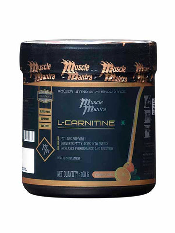 Musclemantra L-Carnitine - 100 Gms
