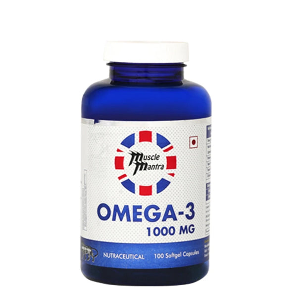 Musclemantra Omega-3 100 softgel Capsules