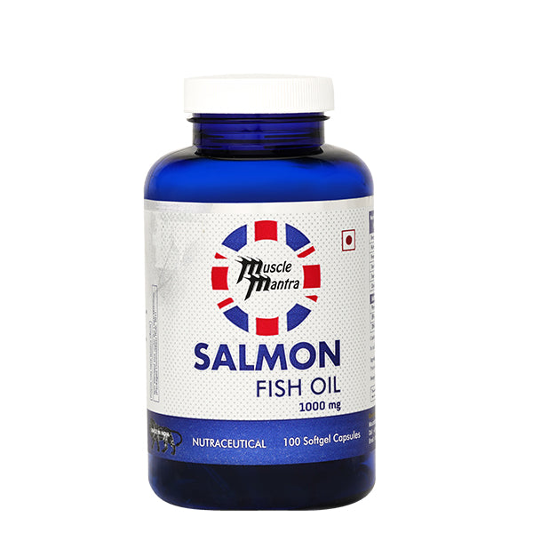 Musclemantra Salmon Fish Oil 100 softgel Capsules