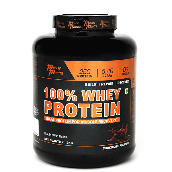 Musclemantra 100% Whey Protein