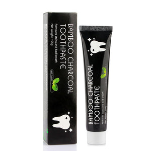 Natural Activated Coconut Charcoal Teeth Whitening Toothpaste