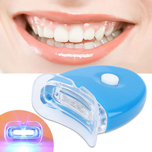 Teeth Whitener LED Oral Mouth Piece