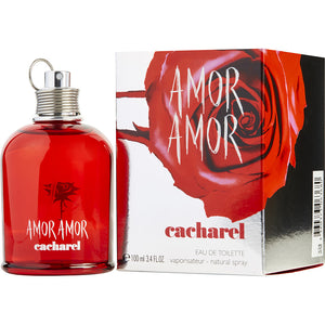 Amor Amor by Cacharel (W) EDT 3.4oz 100mL