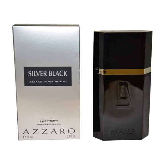 Azzaro Silver Black (M) EDT 3.4oz 100mL
