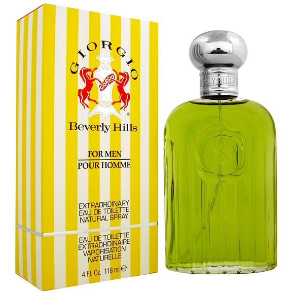 Giorgio Yellow (M) EDT 4.0oz 118mL