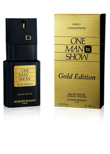 One Man Show Gold (M) EDT 3.3oz 100mL