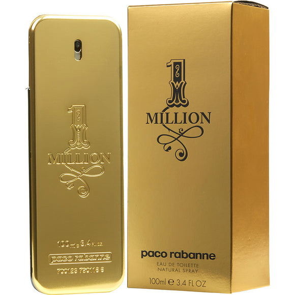 Paco Rabanne 1 Million (M) EDT 3.4oz 100mL